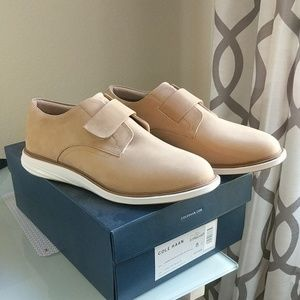 bcbe68f95f5 Cole Haan Shoes - NWT 8w Cole Haan Grandevolution Modern Monk in Tan